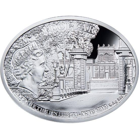 The Most Beautiful Polish Love Stories - John III Sobieski & Maria D`arquien Proof Silver Coin 1$ Niue 2014