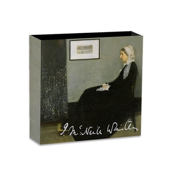 Treasures of World Painting - Whistler's Mother 1 oz 1$ Silver Coin Niue 2019