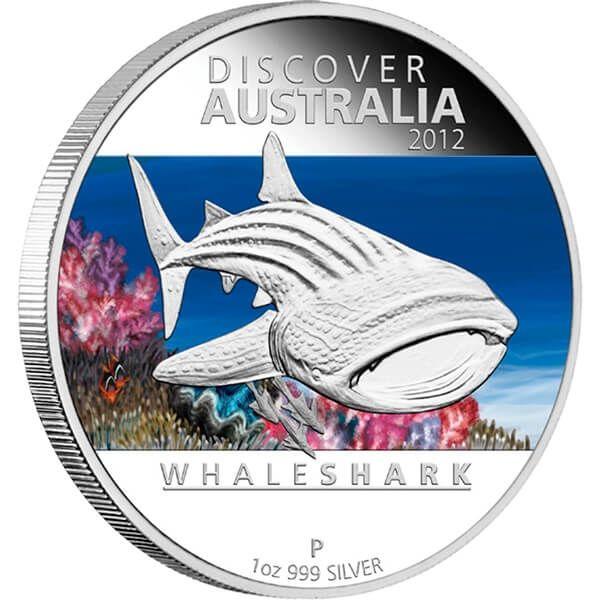 Australia 2012 5 x 1$ Discover Australia 2012 Proof Silver Set
