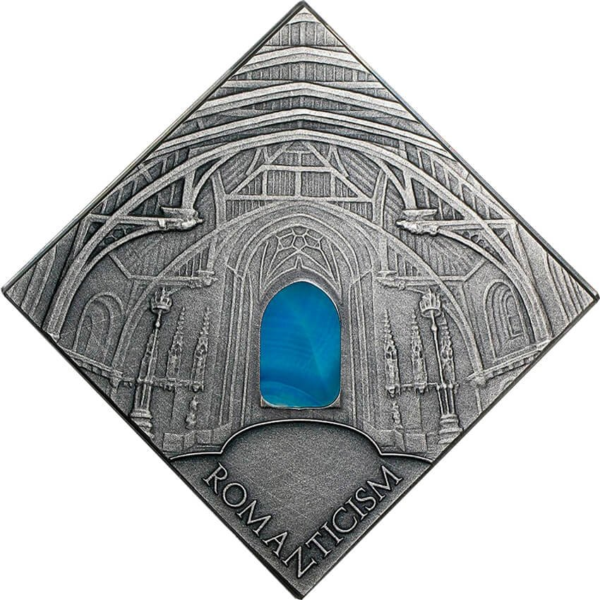 Romaticism Art The Art that Changed the World  Antique finish Silver Coin 1$ Niue 2014