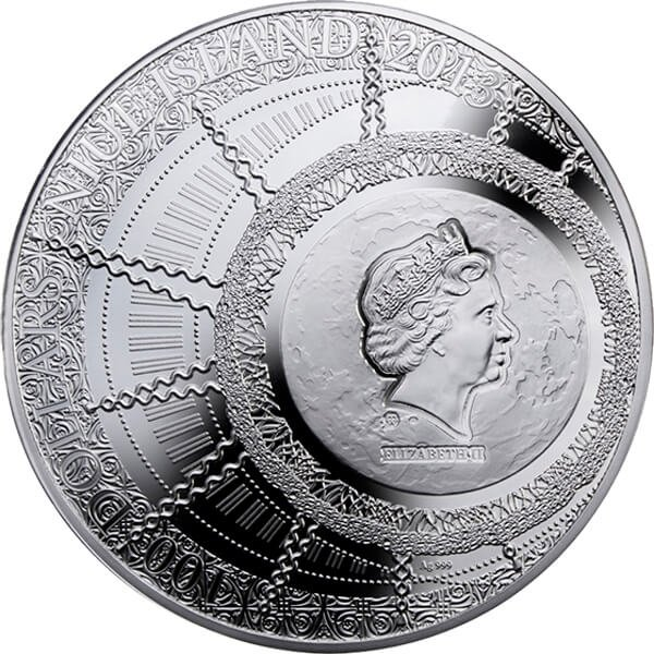 Niue 2013 100$  The Magic Year of Happiness  Proof Silver Coin