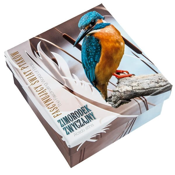 Niue 2014 1$ Kingfisher The Fascinating World of Birds Proof Silver Coin