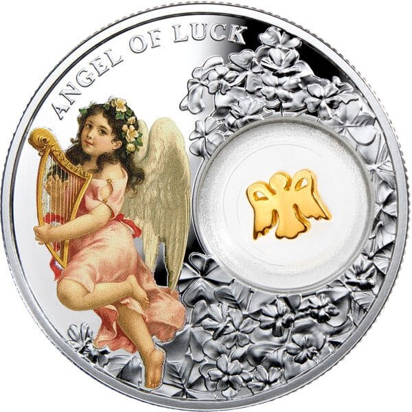 Niue 2015 1$  Angel of Luck - Angels   14.14 g  Proof Silver Coin