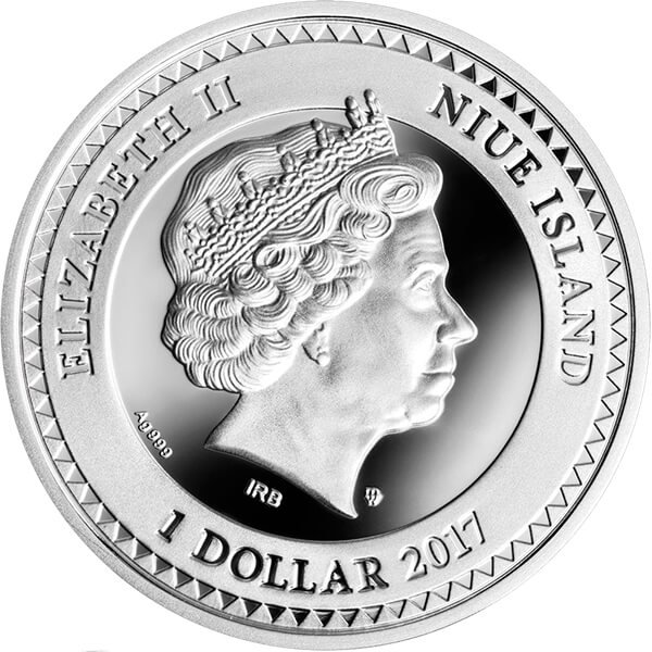 The World of Your Soul Kindness Proof Silver Coin 1$ Niue 2017
