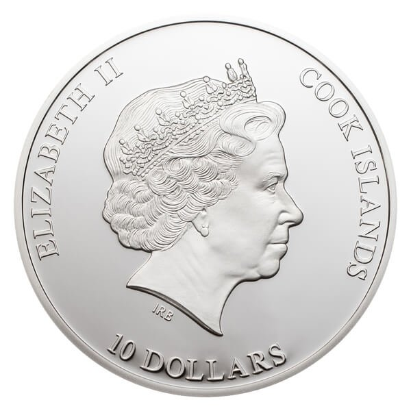 Cook Islands 2012 10$ Nano Earth - The World in Your Hand Proof Silver Coin