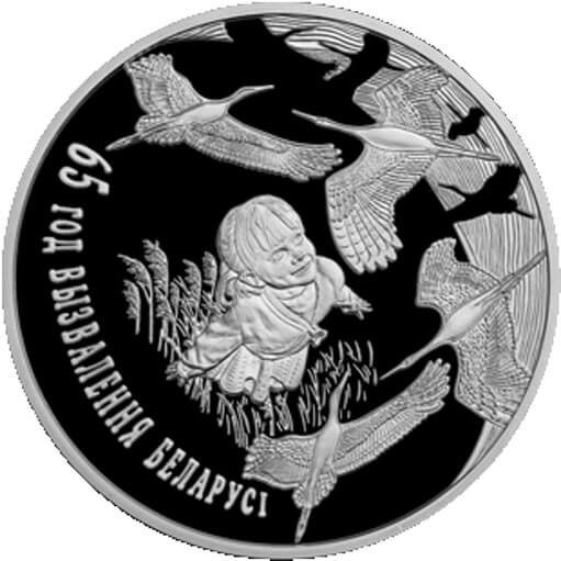 Belarus 2009 1 ruble The 65th Anniversary of Belarus's Liberation from Nazi Invaders  Proof-like Coin