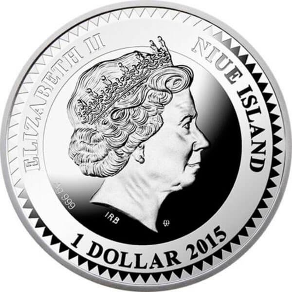 Love - The World of Your Soul Proof Silver Coin  1$ Niue 2015