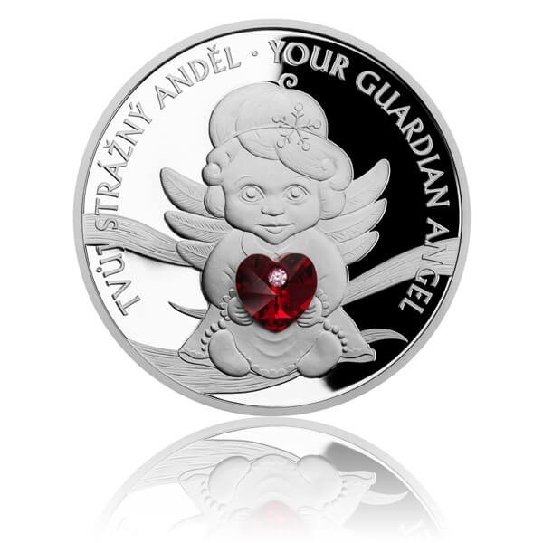 Guardian Angel 1 oz Proof Silver Coin 2$ Niue 2019