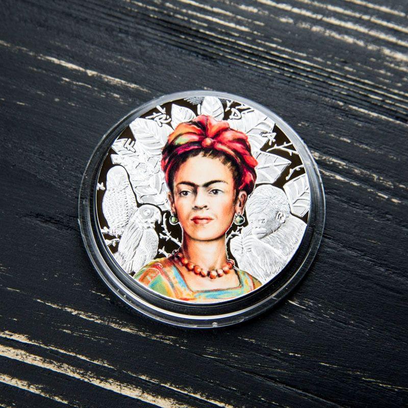 Frida Kahlo 1 oz Proof Silver Coin 1000 Francs CFA Cameroon 2019