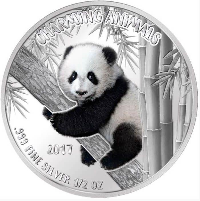 Benin 2017 1000 Francs CFA Charming Animals 1/2 oz Proof-like Silver Coin