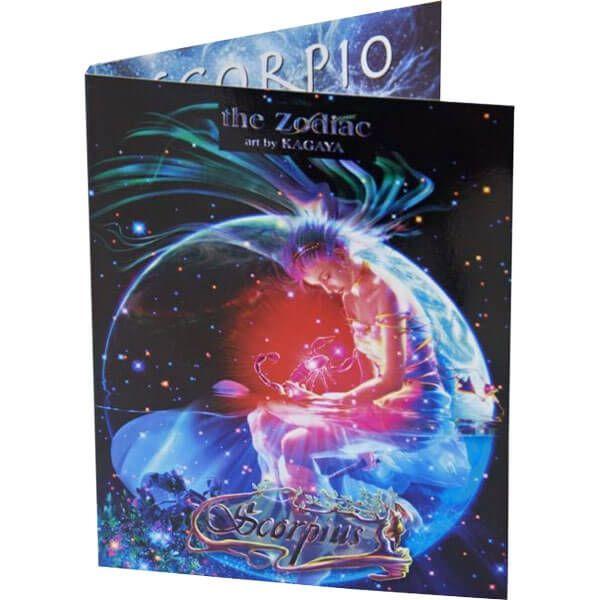 The Scorpio Zodiac Series art by Kagaya Proof Silver Coin 2$ Niue 2011
