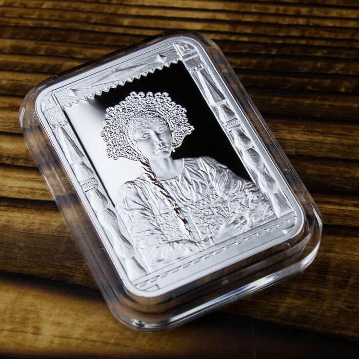 Ilya Glazunovr Proof Silver Coin 1$ Niue 2015