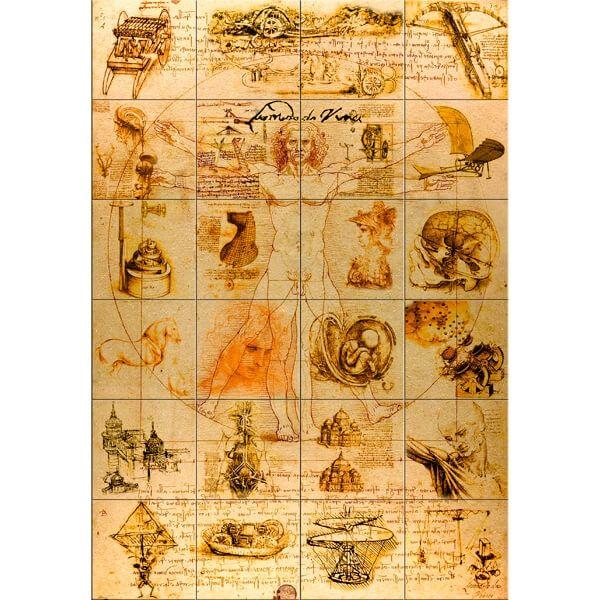 The da Vinci Codex (24 parts) Proof Silver Coin 24$ Niue 2011