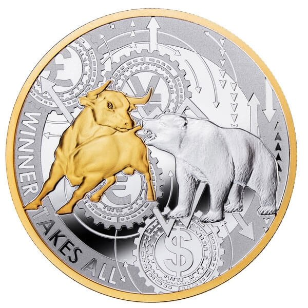 Winner Takes All 1 oz Proof Silver Coin 1000 Francs CFA Cameroon 2020