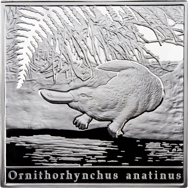 Niue 2010 1$ Platypus Oddities of Natures Proof Silver Coin