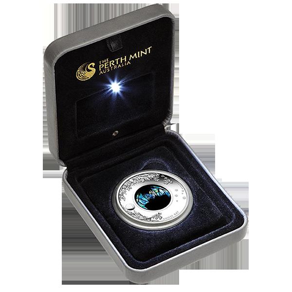 Australia 2015 1$ Ghost Bat  Australian Opal Series Proof Silver Coin