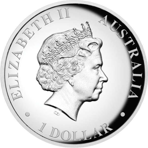 Australia 2012 1$ Kookaburra - High Relief Proof Silver Coin
