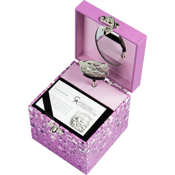 Little Princess Lullaby 1 oz Antique finish Silver Coin 5$ Cook Islands 2019