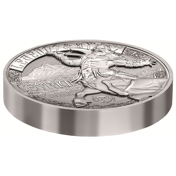 Centaur Legends and Myths II 2oz Reverse Proof Silver Coin 5$ Solomon Islands 2018