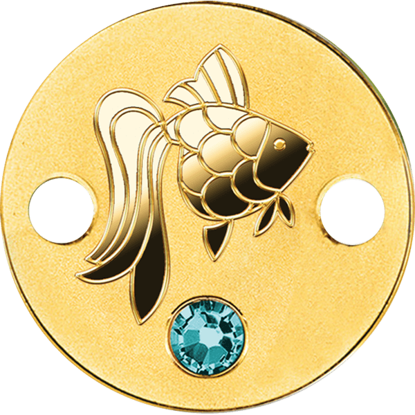 Niue 2017 5$ Goldfish Small Treasures Proof Gold Coin