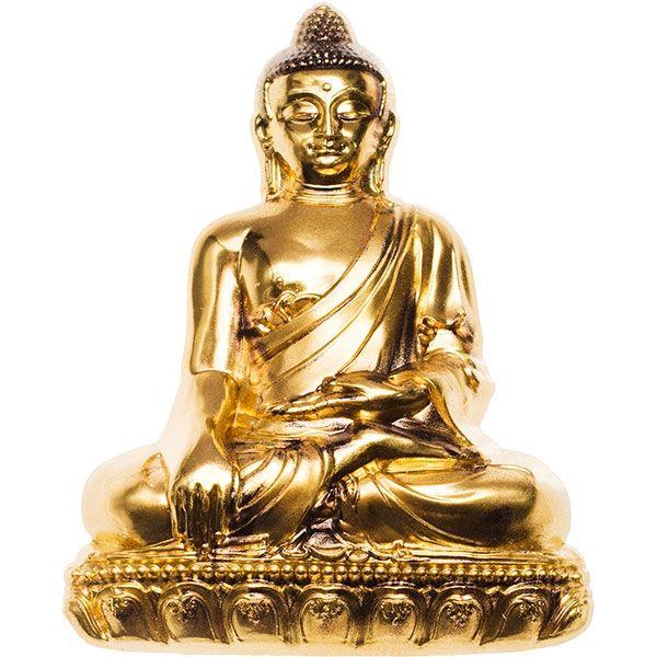 Shakyamuni Buddha 3 oz BU Silver Coin Mongolia 2018 2000 togrog