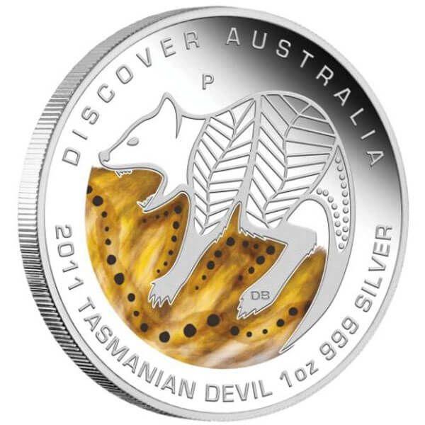 Discover Australia 2011 Proof Silver Set 5 x 1$ Australia 2011