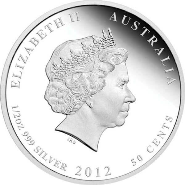 Kookaburra Australian Bush Babies II 1/2oz Proof Silver Coin 50 cents Australia 2012
