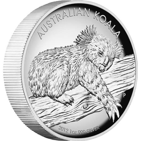 Australia 2012 1$ Australian koala 2012 1oz Silver Proof high relief coin