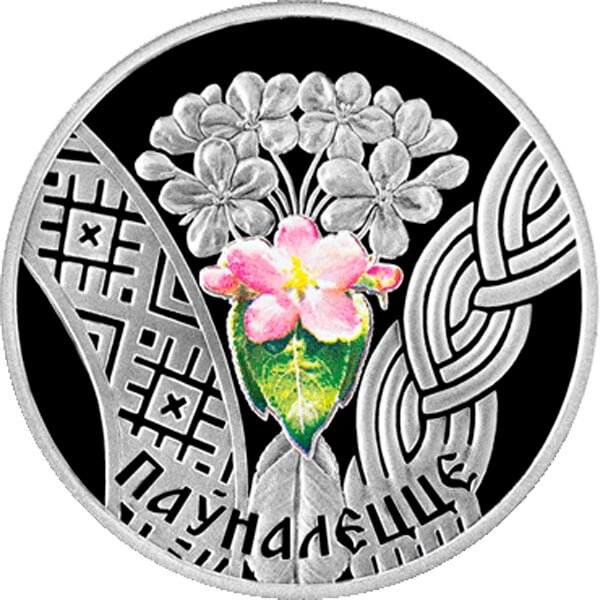 Belarus 2010 20 rubles Adulthood - The Age of Majority BU Silver Coin