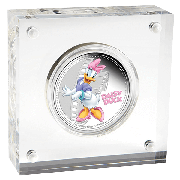 Niue 2014 2$ Mickey & Friends - Daisy Duck Proof Silver Coin