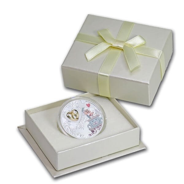 The Wedding Coin Proof Silver Coin 500 Francs CFA Cameroon 2019