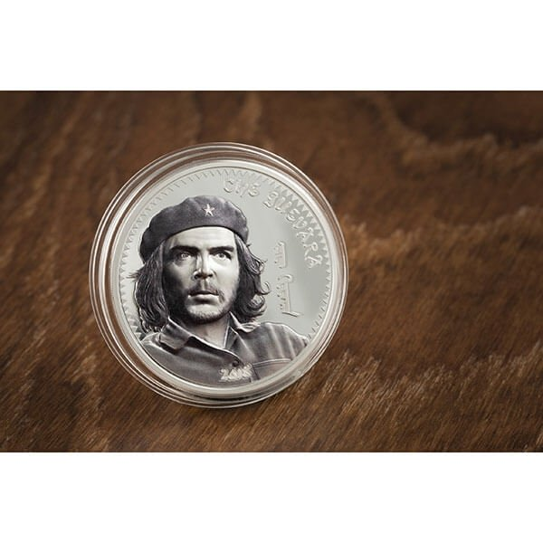 Che Guevara 1 oz Proof Silver Coin Mongolia 2018 1000 togrog
