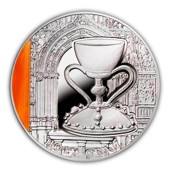 Mysteries od History  Holy Grail  Proof Silver Coin  2$ Niue 2013