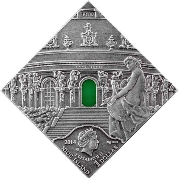 Niue 2014 1$ Rococo Art The Art that Changed the World  Antique finish Silver Coin