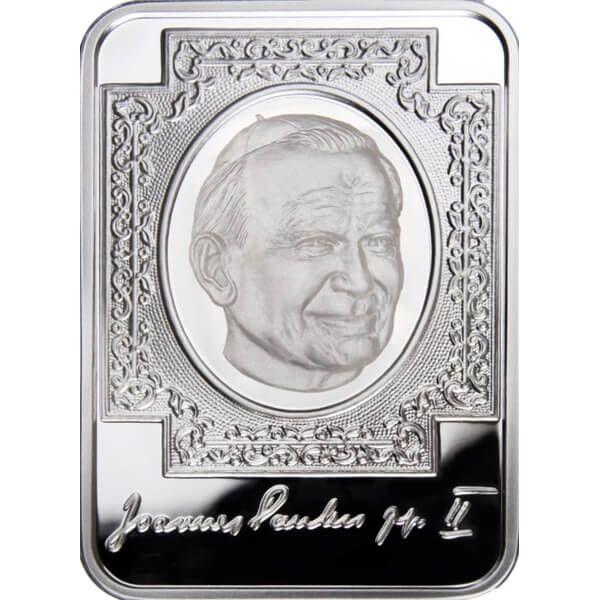 John Paul II Proof Silver Coin 10 diners  Andorra 2010
