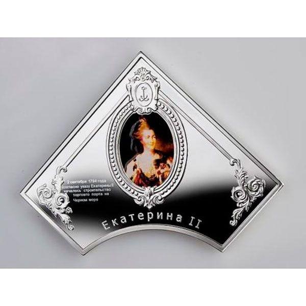 Odessa - pearl of the black sea coast Ag set 2$(x5) Niue 2013