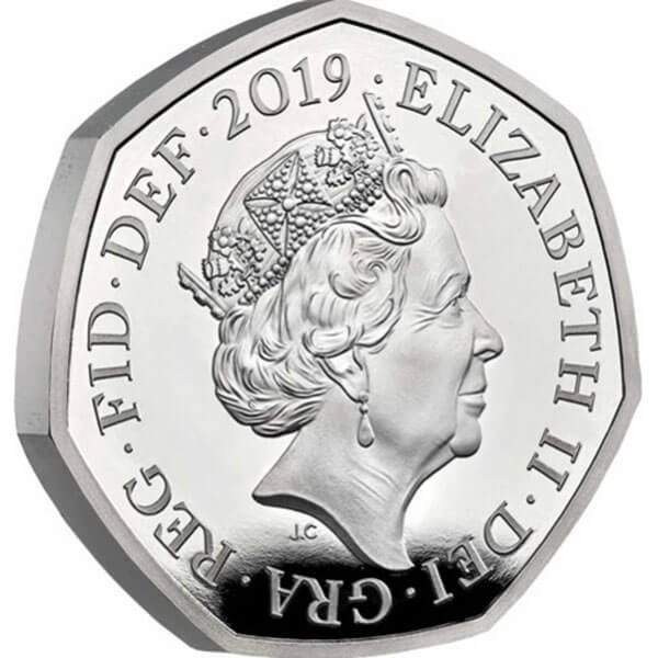 A Celebration of Sherlock Holmes Proof Silver Coin 50p United Kingdom 2019