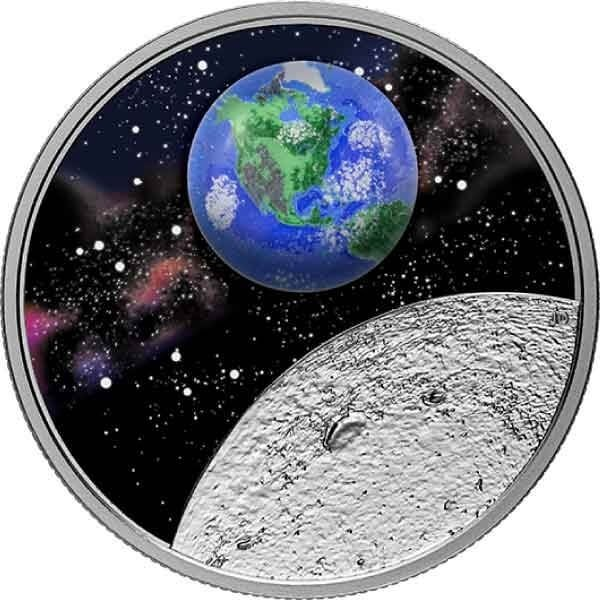 Mother Earth 31.39 g Proof Silver Coin 20$ Canada 2020