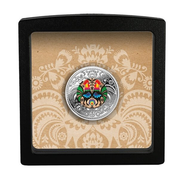 Polish Folklore Proof Silver Coin 500 Francs CFA Cameroon 2019
