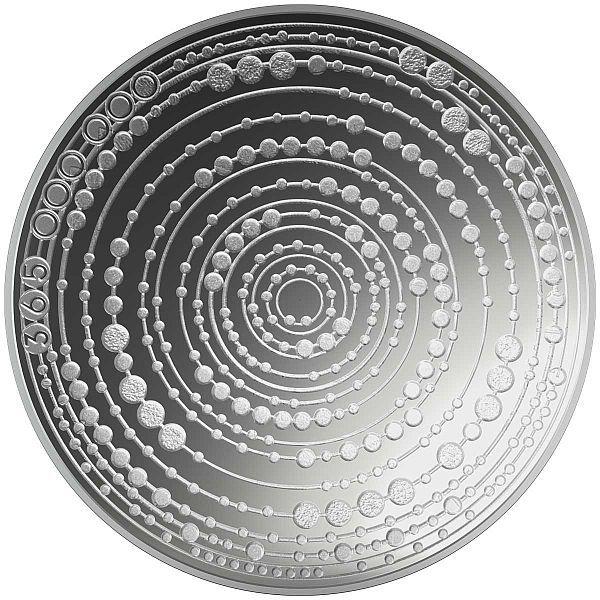 Ventastega Proof Silver Coin Latvia 5 euro 2020