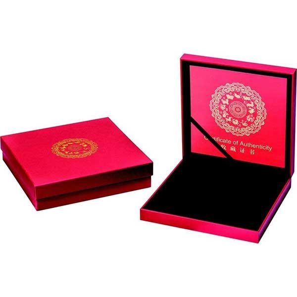 Year of the Pig with Pearl Ag Lunar 2019 1 oz Proof Silver Coin 10$ Fiji 2019