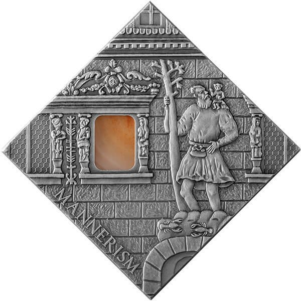 Niue 2014 1$ Mannerism Art The Art that Changed the World  Antique finish Silver Coin