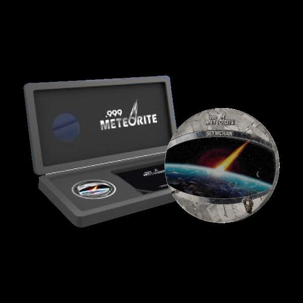 Seymchan Meteorite 1oz Uncirculated Coin 1$ Niue 2021