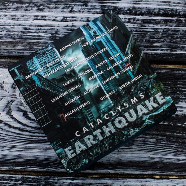 Earthquake Cataclysms 1oz Antique Finish Silver Coin 2$ Fiji 2017