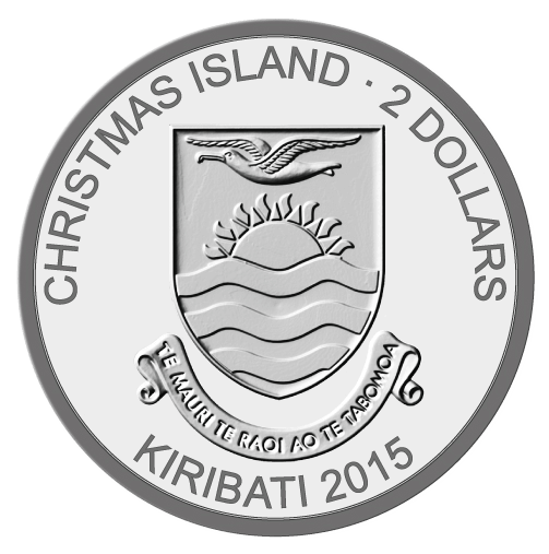 Kiribati 2016 2+5+10$  Impressive 3-Coin Snowman-Set Proof-like Silver SET