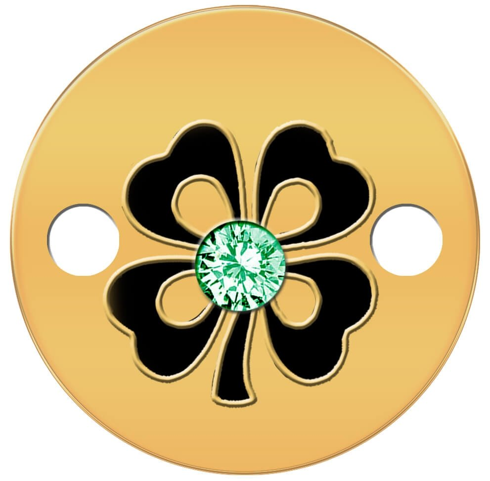 Niue 2015 5$ Four Leaf Clover Small Treasures Proof Gold Coin