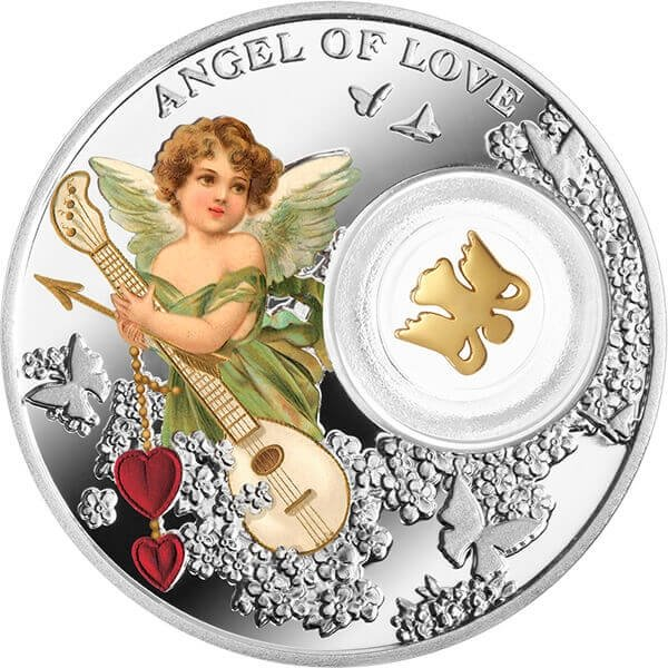 Angel of Love - Angels Proof Silver Coin Niue 1$ 2017