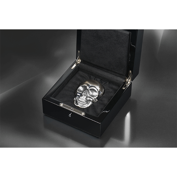Big Skull 500 g Antique finish Silver Coin 25$ Palau 2017