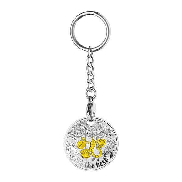 All the Best Key Ring Proof Silver Coin Niue 2017 1$