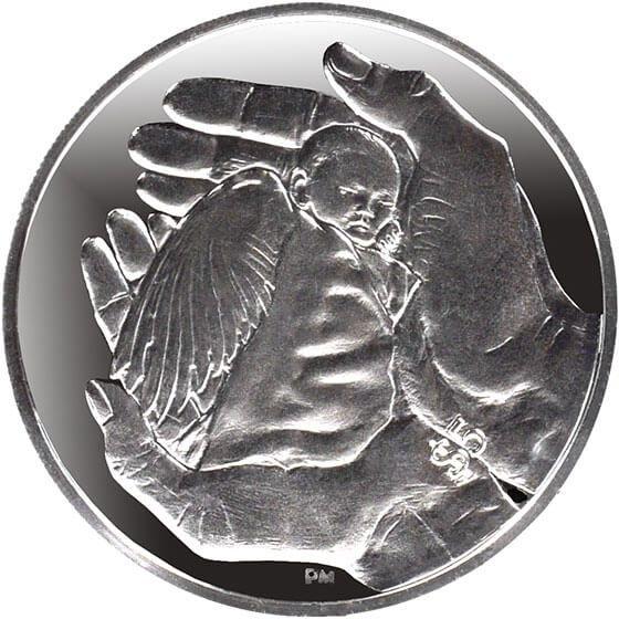 British Virgin Islands 2013 5$ Baby Angel Proof Silver Coin